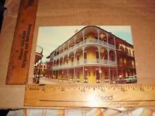 New Orleans Lace Balconies 700 Royal Street Cafe French Quarter Car People road