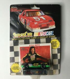 1991 Racing Champions Kyle Petty #42 Die Cast Nascar Race Car Mellow Yellow