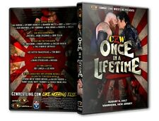 CZW - Once in a Lifetime DVD-R, Combat Zone Atsushi Onite Matt Tremont
