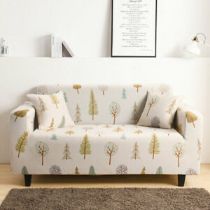 Elastic Stretch Sofa Cover for Living Room L Shape Armchair Cover 1/2/3/4 Seater