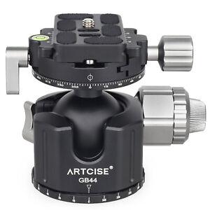 ARTCISE 44mm GB44 Panoramic Tripod Ball Head Low Profile Tripod Head for Camera