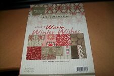 PAPERBLOCK MARIANNE DESIGN WARM WINTER WISHES  32 SHEETS/8 DESIGNS 21X15 CM NEW