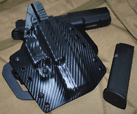 The Curve OWB Carbon Fiber Kydex Holster for H&K HK Heckler & Koch by 1441 Gear