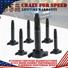 6 Units Ignition Coils for Lexus Toyota Rav4 Camry Avalon 3.5L V6 178-8311 UF487