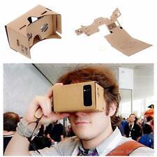 Google cartón realidad Virtual VR 3D Auricular para Samsung S6 S7 S8 Iphone 7 6