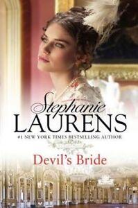 Devil's Bride: 01 (Cynster Novels), Excellent, Laurens, Stephanie Book