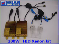 NEW 200W HID Xenon Kit Headlight Light Car Bulbs Light Lamp H1 H4 H7 H11 White