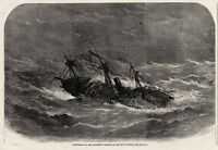 SS London Shipwreck Disaster - Bay of Biscay Coffin Ship 1866