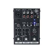 Topp Pro MX3BT 3 Channel Mini Mixer With USB, EQ & Bluetooth