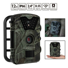 12MP Hunting Camera Trail Scouting Wildlife IR Night Vision LED Infrared R2