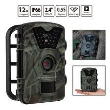 CT008 1080P HD Trail & Game Camera 12MP Mini Night Vision Wildlife Cam Infrared