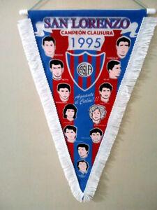 SAN LORENZO 1995 Champion PENNANT - Argentina Football Soccer