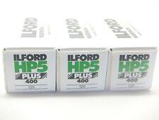 3 x ILFORD HP5 PLUS 400 120 ROLL CHEAP B&W FILM By 1st CLASS ROYAL MAIL