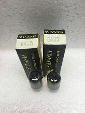 2 Pcs NOS Sylvania 6485 (6AH6) - audio radio Preamp Tubes NIB