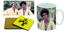 Enter the Dragon - Jim Kelly - John Saxon - Bruce Lee Mug & Coaster Set