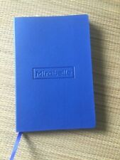 Lined Journal 80 Sheets 160 Pages Bookmark Document Pocket Elastic Closure New