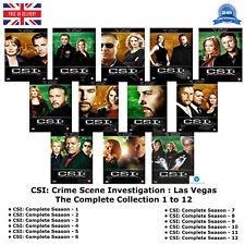 CSI Crime Scene Investigation Las Vegas Complete 1 2 3 4 5 6 7 8 9 10 11 12 DVD