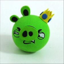 Cute Green Crown Pig Antenna Balls Car Aerial Ball Antenna Topper & Decor Ball