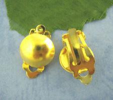 Autres perles et articles de confection de bijoux clips boucles d'oreilles