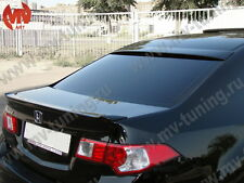 NEW Rear Window Spoiler WIDE Lip Honda Accord VIII 8 / Acura 2008-2013 TSX CU