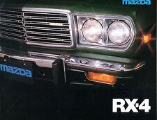 Vintage Mazda RX-4 Automobile Brochure EX 082516jhe