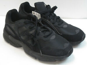 Adidas Yung-96 Chasm Men's New Size 8 Black Athletic Running Shoes 7518
