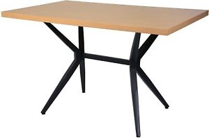 Livebest Dining Wood Table 4 Person Modern Cafe Bar Kitchen Balcony Living Home