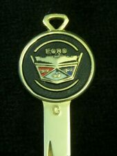 FORD ROUND CREST KEY Blank Chain 1966-92 MINT Vintage Mustang Torino Galaxie LTD