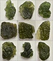 Moldavite Natural Real✔ Meteorite Green Tektite Trusted Source [Pick your Own]✔✔