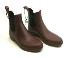 A New Day Women's ALEX Rain Boots Size 6W NWT Berry Ankle Boot Pull-On Weather