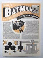 Batman Non-Posable Model Character Toy Convention Golden Age Bob Kane 1996