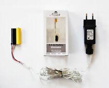 Batterie Adapter 1 x 2 AA Mignon Batterien 3,2V Wandler 4m Kabel Netzteil