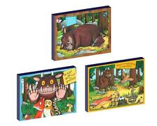 3 x GRUFFALO CANVAS ART BLOCKS/ WALL ART PLAQUES/PICTURES