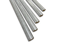 Chrome Silver Tractor Rubber Infill// Beading// Filler Strip Black or White