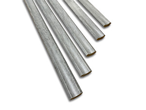 Embossed Grey Oak Edge Beading - 10 Lengths - 1.2m  - Scotia Edging Strip