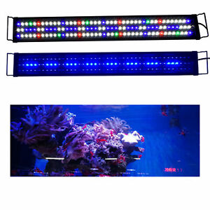 90-120 cm Aquarium Fish Tank Pond RGB Light Marine Reef Coral Fish Tank Light
