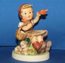 "Hummel Goebel 65 Farewell Girl 4.75"" Porcelain Figurine TMK6"