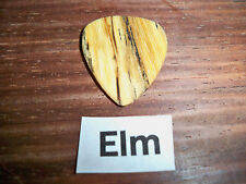"Wood guitar pick ""Elm""  by RobinsonWood Picks"