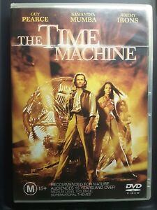 Time Machine DVD GUY PEARCE MOVIE - RARE Region 4 Australian Release