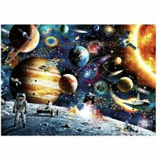 Space Puzzle 1000 Piece Jigsaw Puzzle Kids Adult ,Planets in Space Fast Shipping