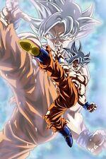 Dragon Ball Poster Goku Ultra Kick 12inx18in Free Shipping