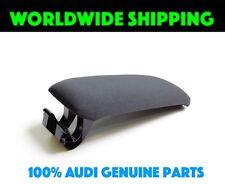 Audi A3 8P Center Console Armrest Lid Soul Black Cloth GENUINE 8P0864245P8E1