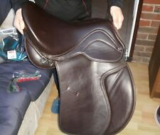 "Heather Moffet saddle 16"" brown VSD treeless"