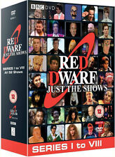 RED DWARF - Complete Just The Shows Season Series 1-8 Box (NEW DVD R4)
