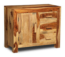 Cuba Light Sheesham Furniture Small Sideboard (c4lw)