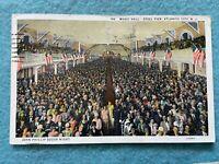 Music Hall, Steel Pier, Atlantic City New Jersey Vintage Postcard