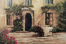 Late Summer Evening Oil Painting on a High Quality Linen Canvas 90cm x 60cm