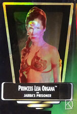 Princess Leia Organa as Jabba's Prisoner, Star Wars POTF2 Hologram Unopened