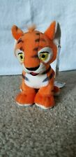 2003 Neopets Orange Kougra Plushie Tiger Stuffed Animal Has All Tags