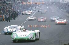 Jo Siffert PORSCHE 908/2L Le Mans 1969 Photographie 1